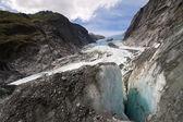 Scenic landscape at Franz Josef Glacier — Stock Photo