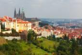 Prague Castle and the Little Quarter, Czech Republic — Stock Photo