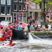 Amsterdam Canal Parade 2014 — Stock Photo