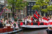 Amsterdam Canal Parade 2014 — Stock Photo