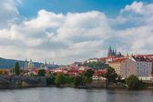 Prague Castle and the Little Quarter, Czech Republic — Стоковое фото