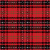 Vector seamless pattern Scottish tartan — Stock Vector