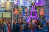 Showcase childrens store in Paris, France — Stock Photo