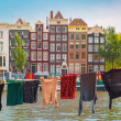 Amsterdam canal, Netherlands, Netherlands — Stock Photo #70686065