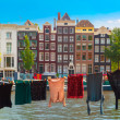 Amsterdam canal, Netherlands, Netherlands — Stock Photo #70686819