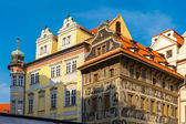 House U Minutes on Old Town Square, Czech Republic — Stock Photo