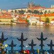 Prague Castle and Little Quarter, Czech Republic — Stock Photo #72197795