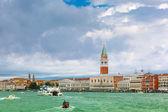 View from the sea to Venice lagoon, Italia — Stock Photo
