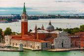 San Giorgio Maggiore island to Venice, Italy — Stock Photo