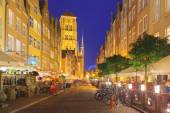 Mariacka street in Gdansk Old Town, Poland — Stock Photo