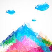 Abstract mountain. — Stock Vector