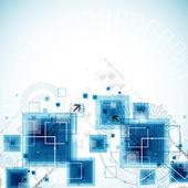 Fondo de negocios de tecnología abstracto — Vector de stock