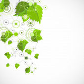 Eco manufacture abstract technology background.  — Stockvector