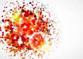 Colorful confetti  background — Stock Vector