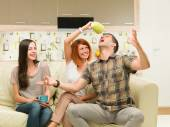 Friends having fun — Stock Photo