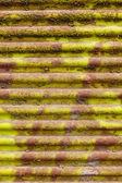Old corrugated sheet — Stock Photo