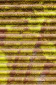 Vecchia lamiera grecata — Foto Stock