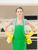 Let's start cleaning — Stock Photo