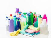 Чистящие средства — Стоковое фото