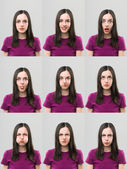 Useful faces — Stock Photo
