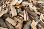 Mucchio di legno — Foto Stock