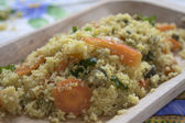 Couscous with vegetable — Stock Photo