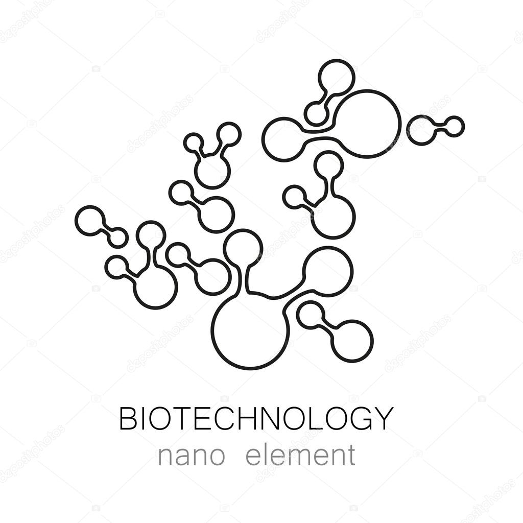 depositphotos_106638920 stock illustration biotechnology nano logo biotechnology nano logo stock vector � antoshkaforever 106638920 on science abstract template