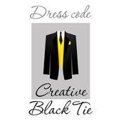 Sukienka kod — Wektor stockowy