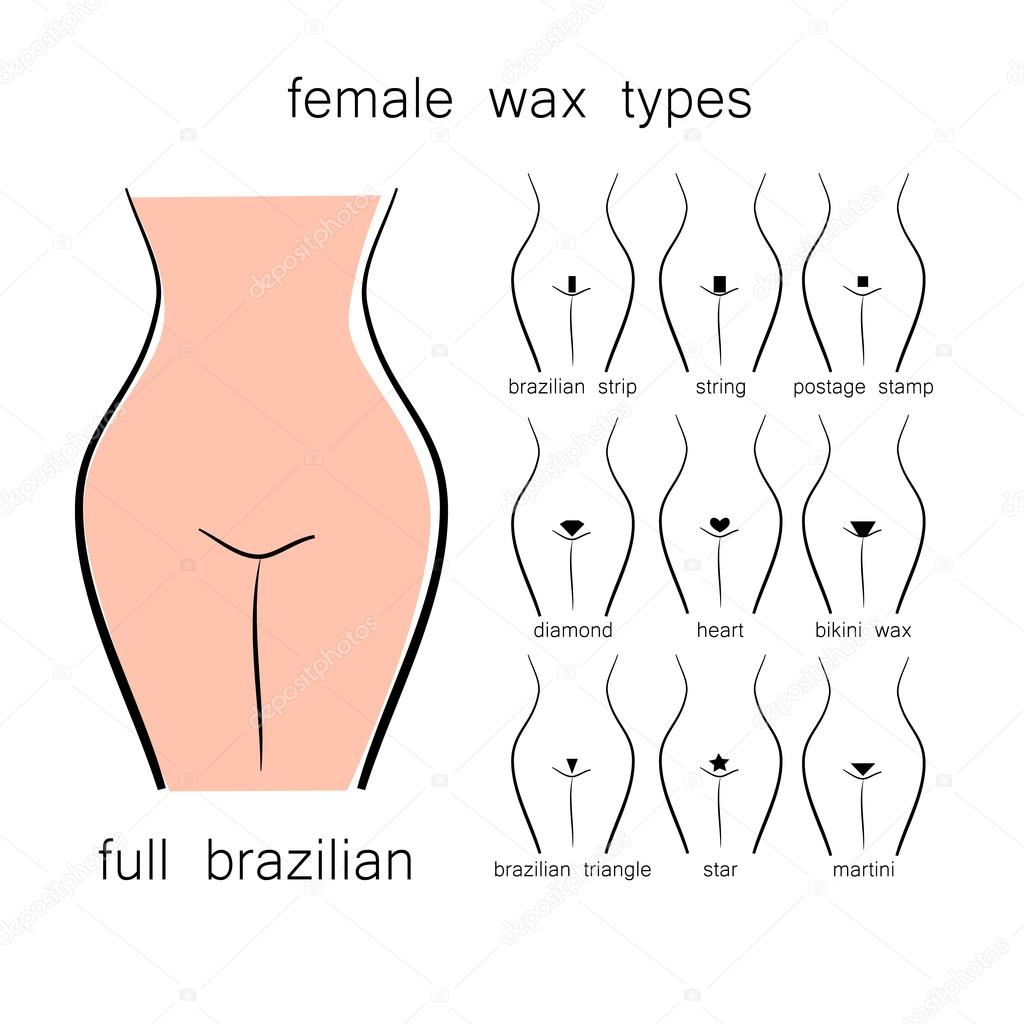 Different Types Of Bikini Waxes 2