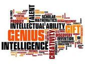 Genius — Stock Photo