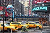 New York yellow cabs — Stock Photo
