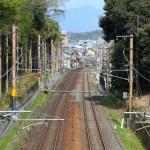 Railway tracks in Japan — Stock Photo #52562449