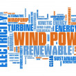 Wind energy — Stock Photo #52895017