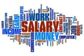Salary — Stock Photo