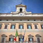 Italy parliament — Stock Photo
