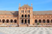 Seville - Plaza de Espana — Stock Photo