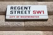 Regent street — Stok fotoğraf