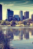 Perth skyline — Stock Photo