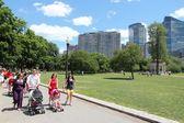 Park in Boston — Stock Photo