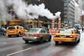 New York City steam — Stock Photo