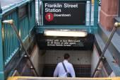 New York Subway — Stock Photo