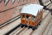 Budapest cable car — Stock Photo