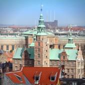 Copenhagen cityscape — Stock Photo