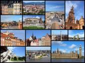 Europe cities — Stock Photo