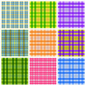 Table cloth backgrounds — Stock Vector