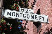 San Francisco, Montgomery Street — Stock Photo