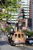 San Francisco cable car — Stock Photo