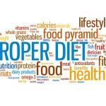 dieta adequada — Foto Stock #53920997