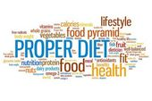 Proper diet — Stock Photo
