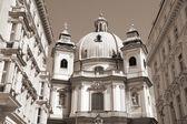 Vienna Peterskirche — Stock Photo